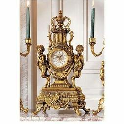 Design Toscano KY026 Grande Chateau Beaumont Table Clock
