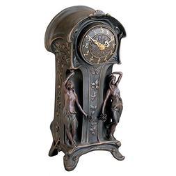 Design Toscano KY8022 Dual Maiden Art Nouveau Mantelpiece Cl