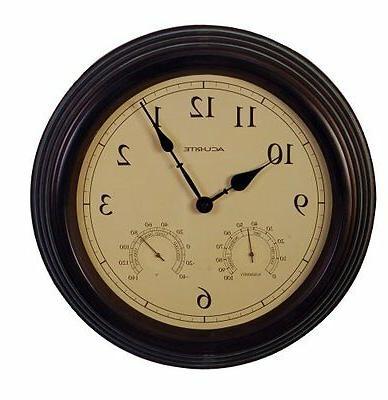 01063 copper patina indoor clock
