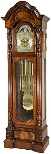 Hermle 010953N91171T Anstead Tubular Chime Grandfather Clock