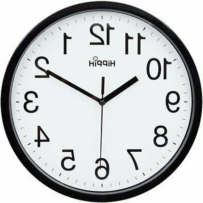 10 silent quartz decorative wall clock non