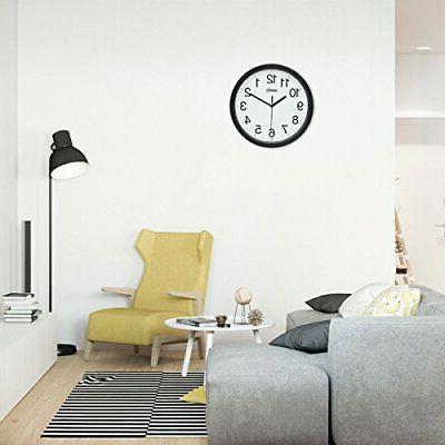 10 Quartz Wall Clock Digital Clock Operate