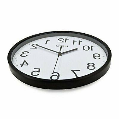 10 Decorative Wall Clock Non-Ticking Digital