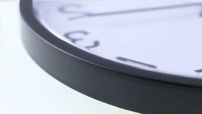 10 Wall Non-Ticking Digital Clock Operate