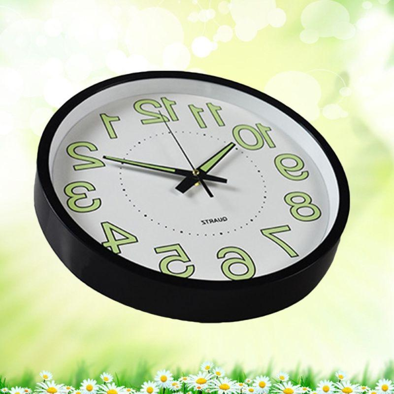 12 Wall Luminous Clocks