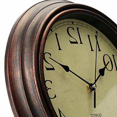 Bekith Round Clock Non Quartz Wall