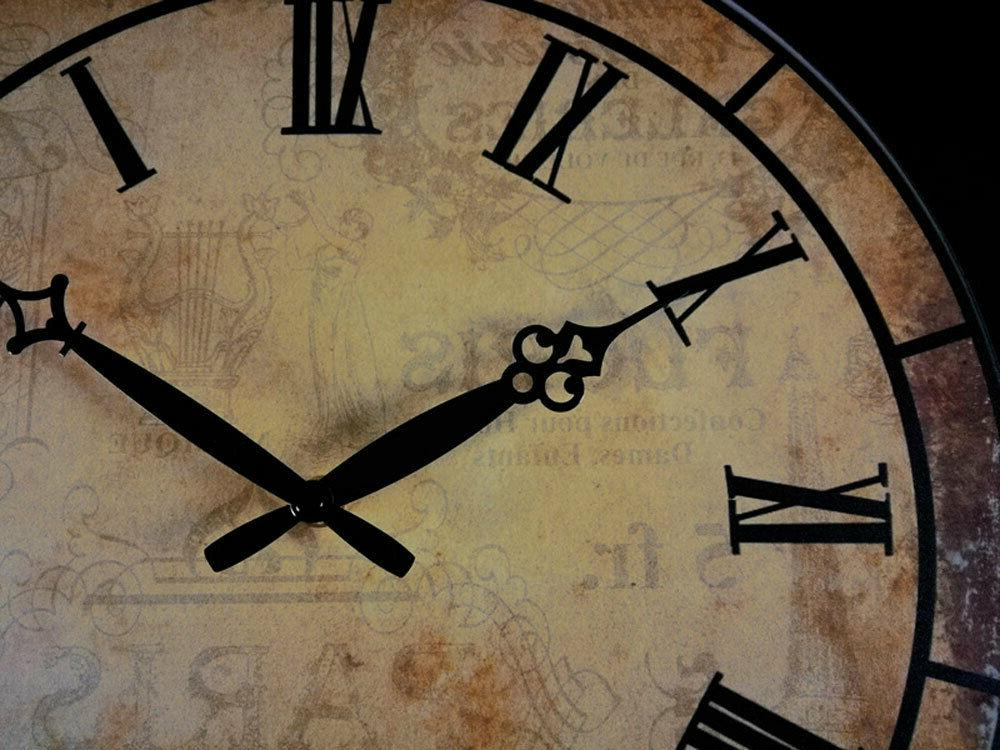 "15"" Room Wall Clocks Decor Antique Time"