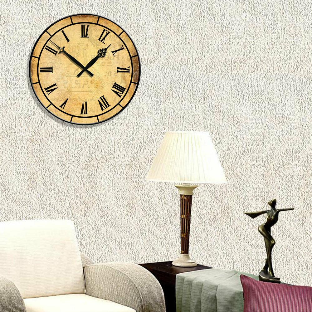 """15"""" Large Retro Room Decor Numbers Time"""