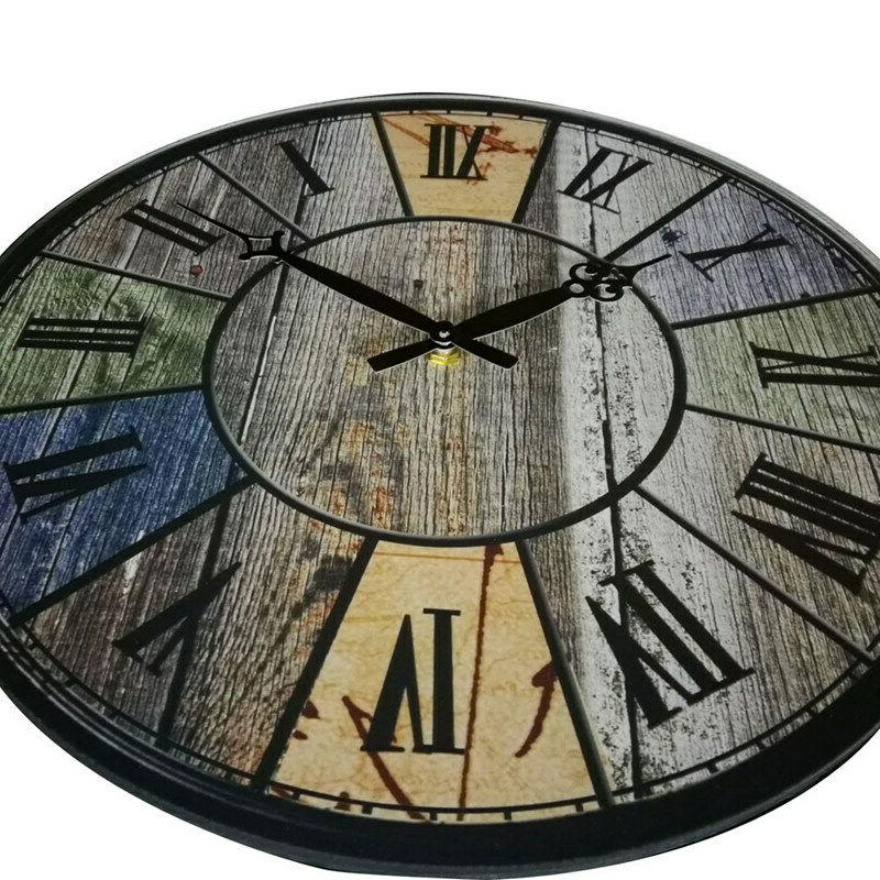 "15"" Large Wall Clocks Silent European"