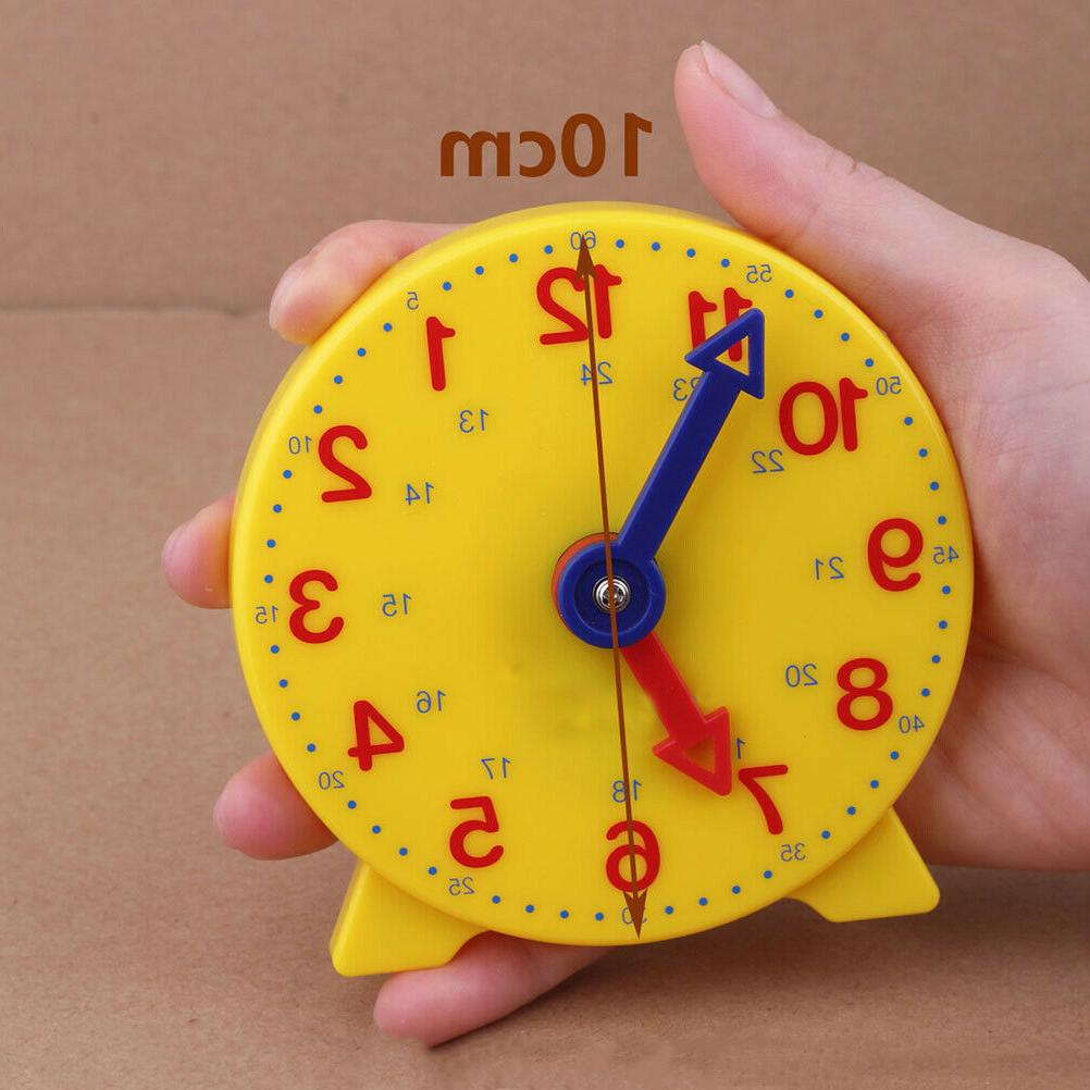 1pc clock round early education learn time