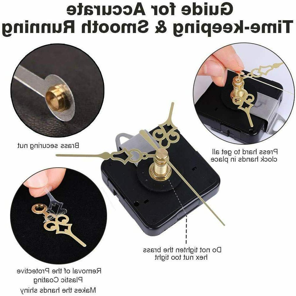 2 Mechanism with 4 of Short Hands Silent