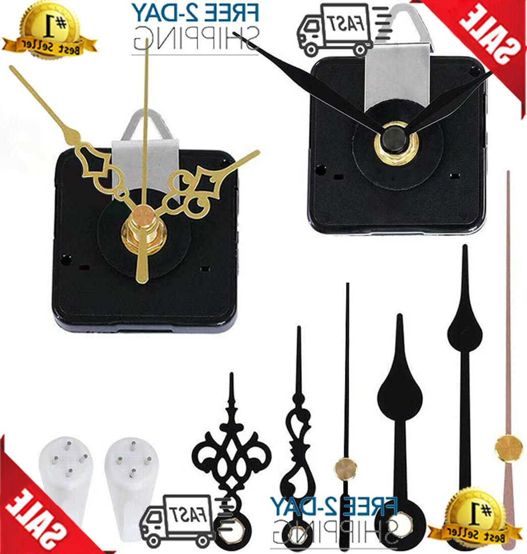 2 pack clock movement mechanism with 4