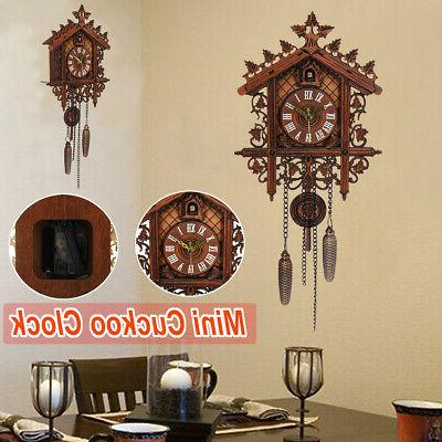US Cuckoo Clock Forest Swing Alarm !