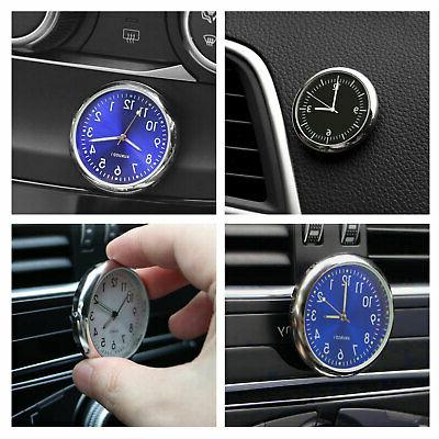 Pocket Luminous Quartz Watch Clock Car Bike