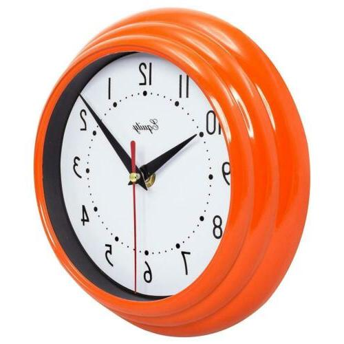 "Equity 25018 Analog Wall Clock 8"","