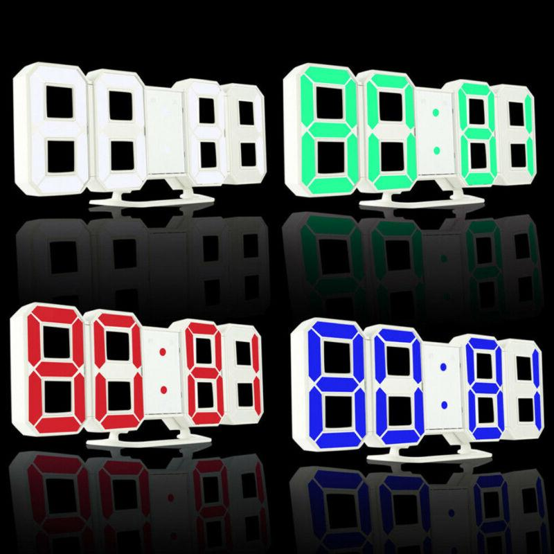 3D Modern Design LED Alarm Table Display US
