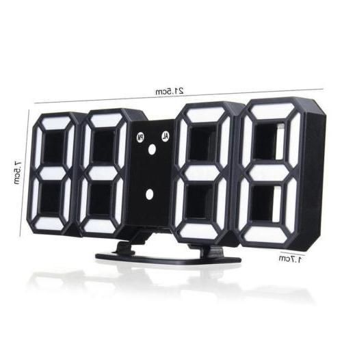 3D Led Wall Clock Table SC