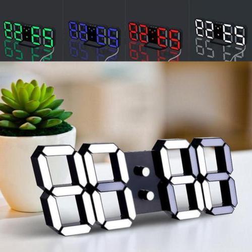 3D Modern Led Alarm Table Display SC