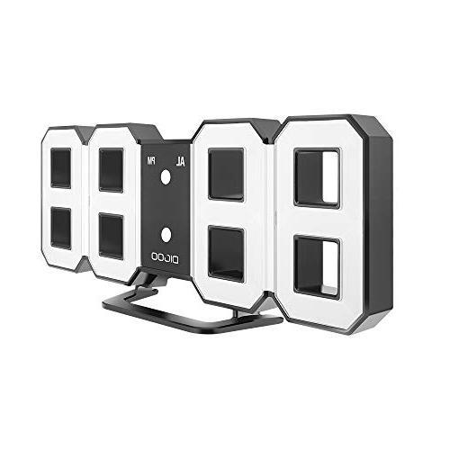 3d wall alarm clock dc