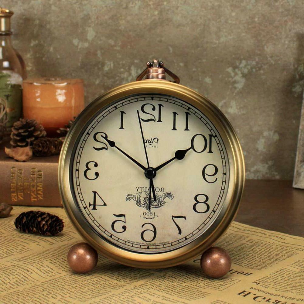 "5.5"" Desk Clocks Battery Operated,Mantel Decorative"