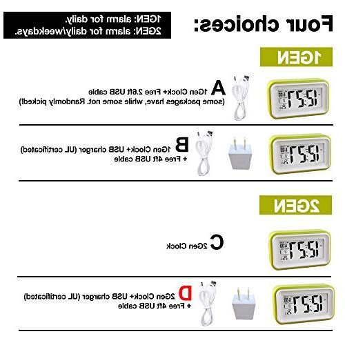 HITO™ w/ Date Display, Repeating Sensor Nightlight-