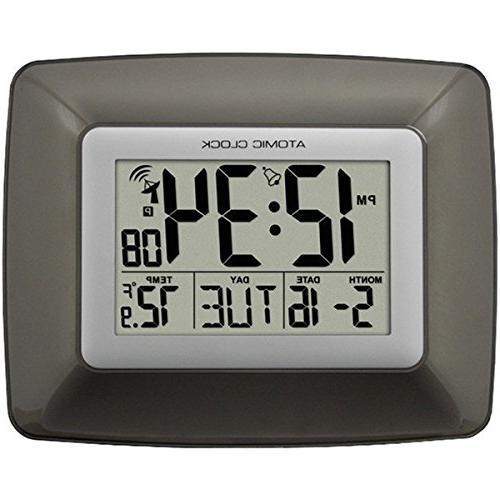 La Crosse Technology WS-8008U-IT Atomic Digital Wall Clock w