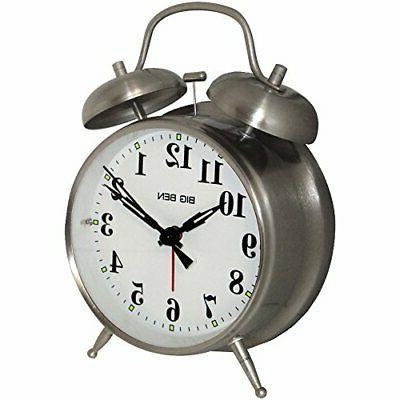 Westclox 70010 Big Ben Twin Bell Alarm Clock