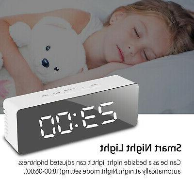 Alarm Display Portable Mirror
