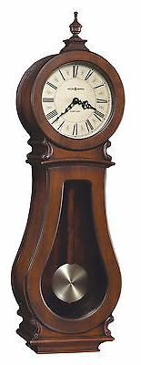 Howard Miller 625-377  Arendal Wall Clock - Tuscany Cherry