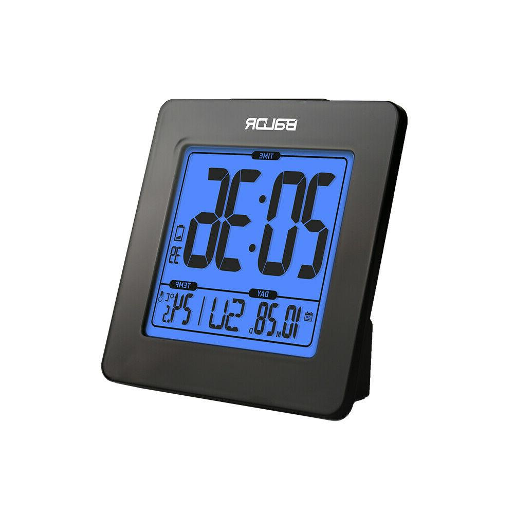 b0114 atomic desk alarm clock lcd