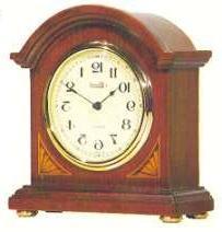 Hermle Barrister Style Elegant Cherry Quartz Bracket Clock 2