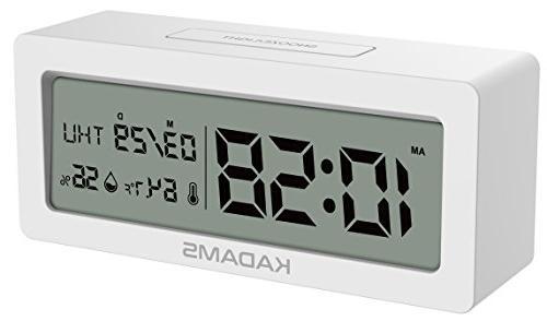 battery alarm clock