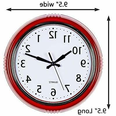 Bernhard Wall Clock Kitchen 50's Vintage