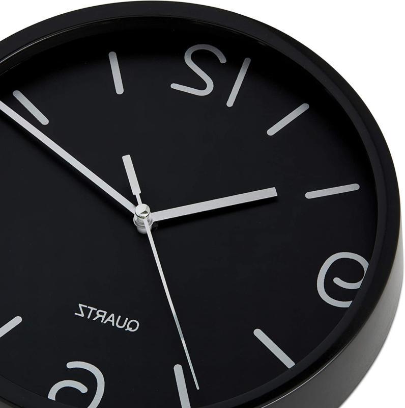 Bernhard Black Clock Non Ticking Oper