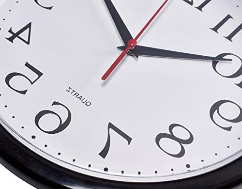 Bernhard Wall Silent Quartz Inch Read Home/Office/School Clock