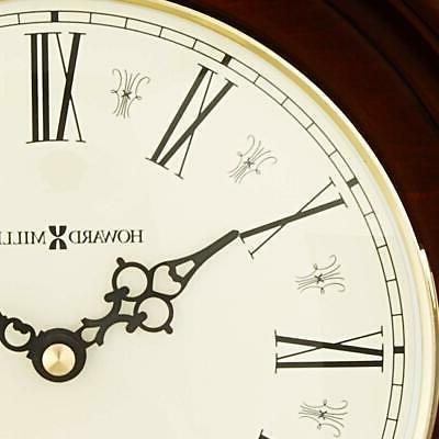Howard Miller Mantel Clock Quartz &