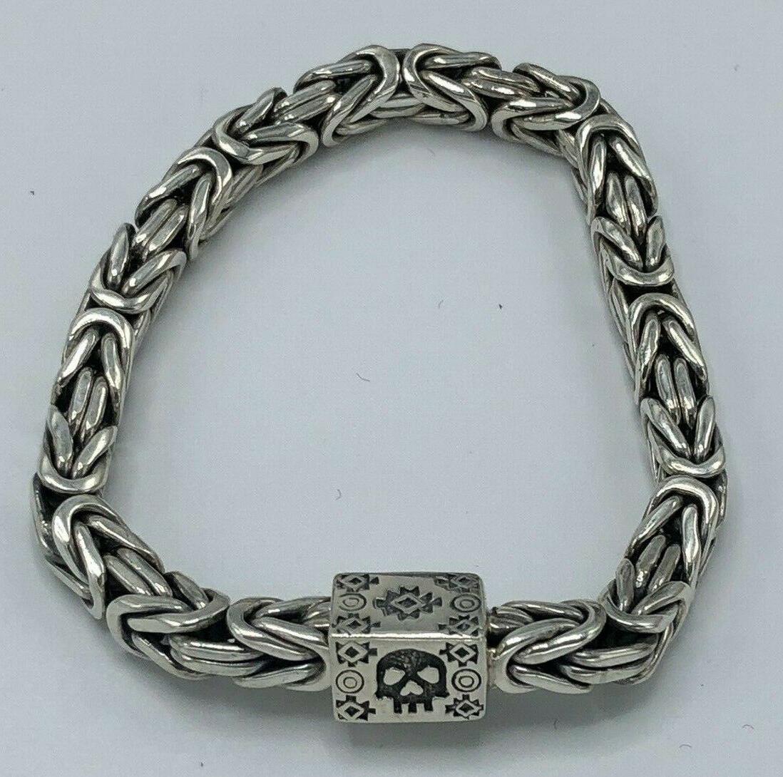 byzantine resurrection bracelet 925 sterling silver 7