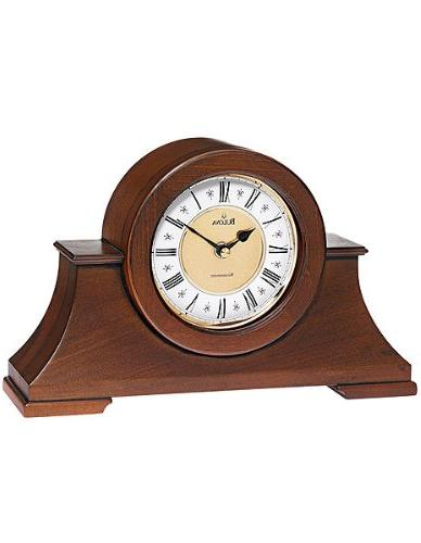 Cambria Mantel Clock W/ Westminster Chime Storage Furniture