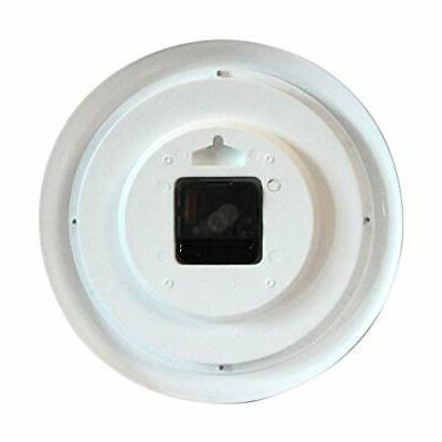 CAMY Wall Inch Silent Ticking - Battery Operated Roun