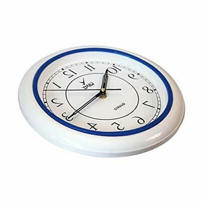 Inch Silent Ticking Battery Operated
