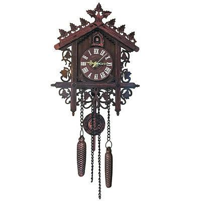 Cuckoo Clock Swing Wall Alarm Room Home Decor