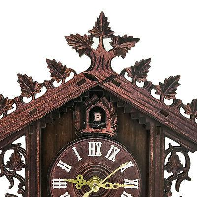 Cuckoo Clock Forest Swing Alarm Handcraft Room