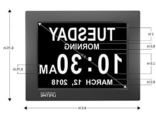 Clock Impaired Digital Clock 5