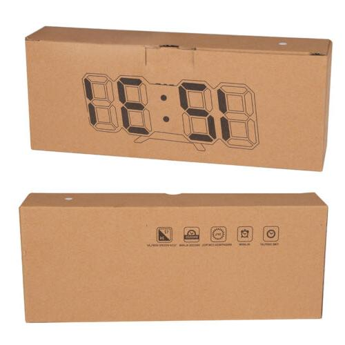Digital Wall Alarm Brightness