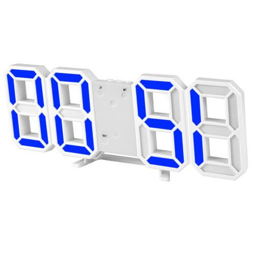 Digital 3D Big Wall Alarm Snooze Brightness