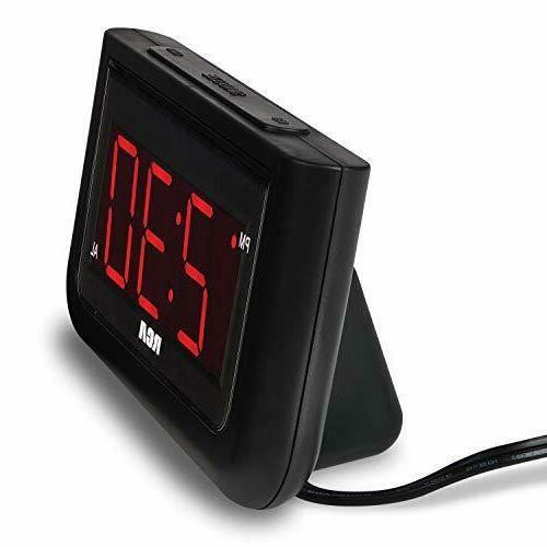 Digital Alarm LED Home Office Desk Portable