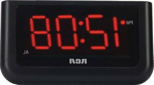 digital alarm clock 7 led large digit