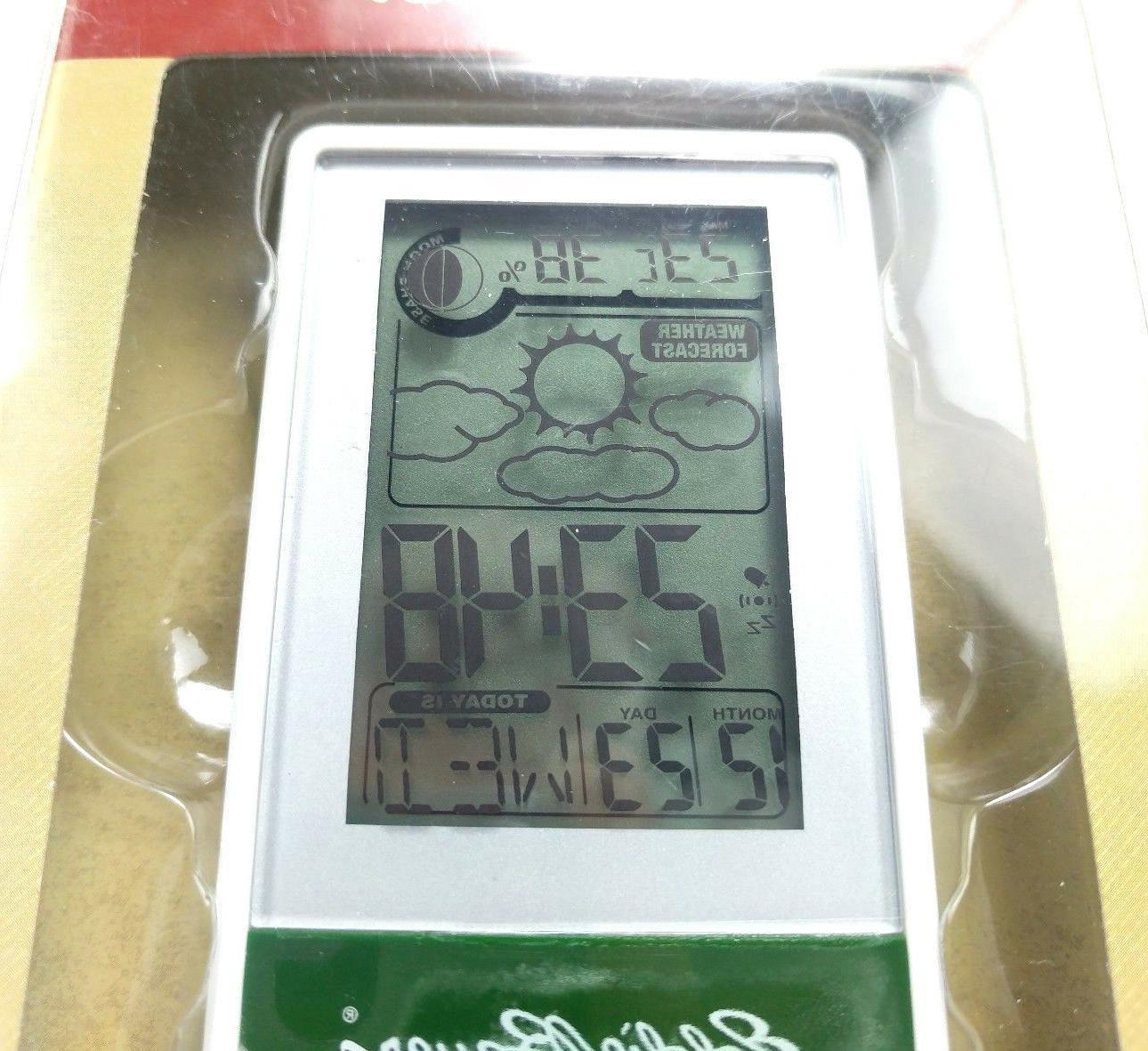 Eddie Bauer Monitor Indoor Temperature Alarm Clock