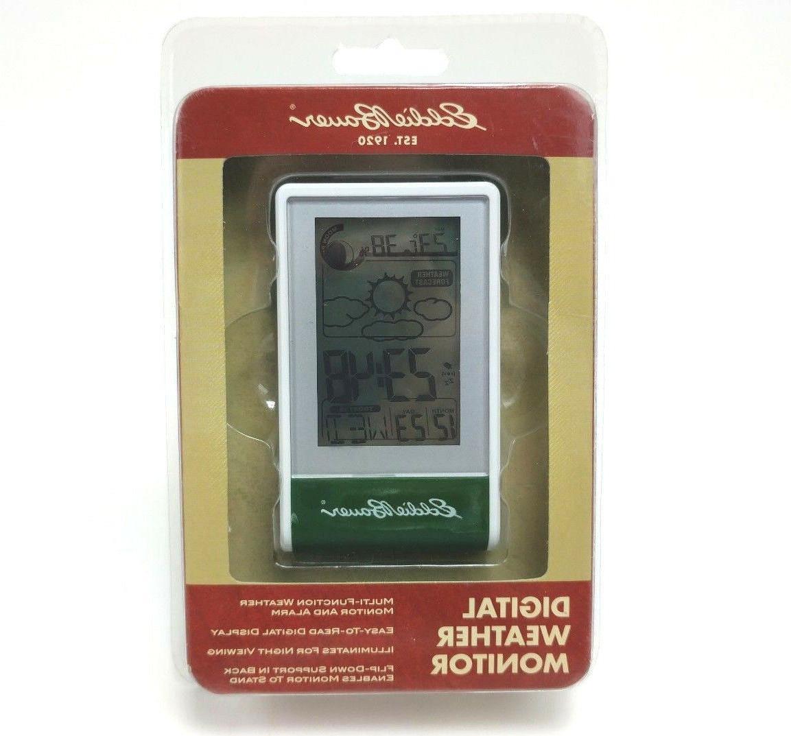 digital weather monitor lcd indoor outdoor temperature