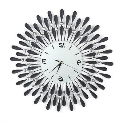 Elegant Luxury Diamond Wall Clocks Room Clock Home Decor